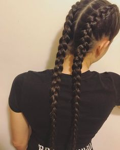 The Beauty of Braided Hairstyles Boxer Braids Hairstyles, Teen Girl Hairstyles, Softball Hairstyles, Baddie Hairstyles, Messy Hairstyles, Cornrows, Q Hair, Long Hair Highlights, Look Girl