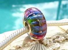KEy WEsT STyLe OPaL Fully Lined Sterling Silver by beachlifebeads, $25.00
