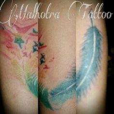 Water Colour Tattoo - by : Malhotra Tattoo#wildan_Malhotra#Wil&Malhotra#PaguyubanTattooBandung#IndonesianSubculture