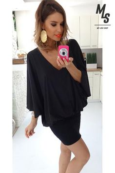 SBRD black dress