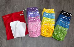 Washable diapers - not expensive and very pretty!
