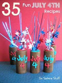 4th of July chocolate firecrackers!