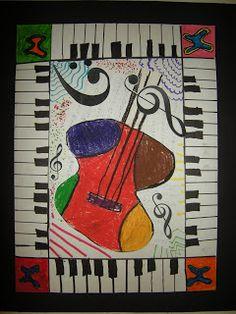 Trendy Music Arte Painting For Kids 32 Ideas Art Lessons, Music Collage, Music Poster Design, Art Music, Instruments Art, Art, Black History Month Art, Guitar Art, Musical Art