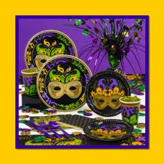 Mardi Gras Decorations Mardi Gras Party Decor Feature Image Party Supplies Party Themes