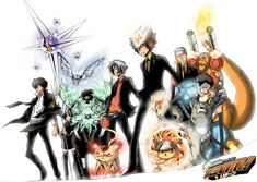 The Future Arc focuses on Tsuna and his Family travelling 9 years and 10 months into the future by Lambo's Ten Year Bazooka in order to confront the Millefiore Famiglia and change the future.