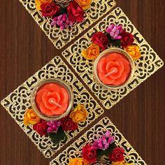 Diwali Diya, Diwali Craft, Diy Diwali Decorations, Festival Decorations, Diya Designs, Diwali Candles, Rakhi, Lions, Tea Lights