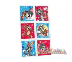 Tom and Jerry Stickers (4 sheets)