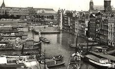 Damrak Amsterdam (jaartal: 1930 tot 1940) - Foto's SERC