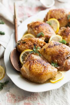 Lemon & Browned Butter Chicken Recipe