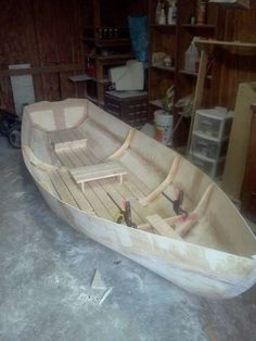 Steps for building this simple boat