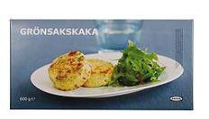 GRÖNSAKSKAKA ベジタブルメダリオン  ¥699 正味重量: 600g  手軽にもう1品!ポテトをベースにブロッコリー、ポロネギ、オニオンとチーズを混ぜた小さな野菜のグラタンです。 お魚やお肉の付け合せにぴったり。いろんな料理のサイドメニューにもどうぞ。 凍ったまま200℃のオーブンで20分加熱してください。 #IKEA