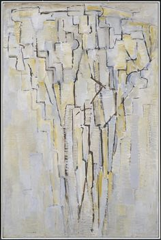 Early Work - inspired by early 1900s cubism -  Piet Mondrian, 'The Tree A'…