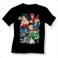 Justice League Break Free T-Shirt