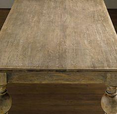 DIY: cerused oak or limed oak