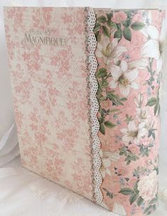 Part 13 how to make a 8x5 pocket mini album by Anne Rostad