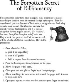 The Forgotten Secret of Bibliomancy Witch Spell, Pagan Witch, Witches, Magick Spells, Wicca Witchcraft, Green Witchcraft, Paranormal, Tarot, Baby Witch