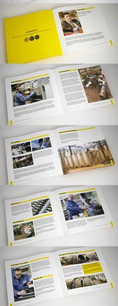 Indesign Industrial Brochure Highlights