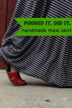 A new Pinned it. Did it. withDoña is up. Love how she tackles the maxi skirt!