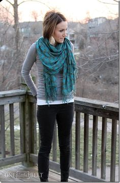 teal, monochromatic gray