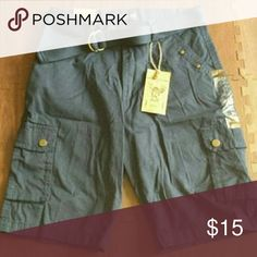 $Drop - Boy's Cargo Short Navy blue boy's short. Brand new with tags. Gioberti Bottoms Shorts