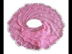 Как связать спицами шаль Бегониевый вихрь? - YouTube #begonia shawl?