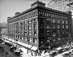 Daytons department store, Nicollet and Seventh, Minneapolis