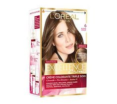 coloration excellence crme de loral paris coloration permanente triplesoin 28teintes - Coloration Excellence