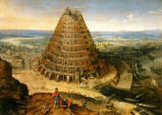 Tower of Babel by van Valckenborch