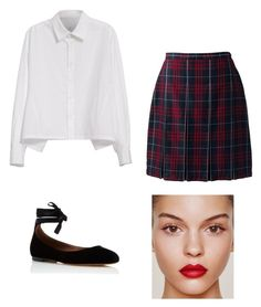 crucible abigail by broybal on Polyvore featuring Y's by Yohji Yamamoto, Lands' End and Tabitha Simmons