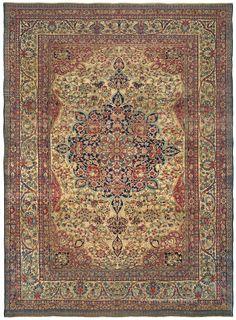 KERMANSHAH - Western Persian 11ft 4in x 15ft 8in Late 19th Century