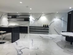 Porcelain Statuario Slab and Tiles | Granite, Marble, Limestone, Quartz Countertops, Stone Slabs, Granite Countertops, Porcelain, Tiles, Porcelain Slabs in Vancouver, West Vancouver, North Vancouver, Burnaby, Surrey, Richmond, Victoria, Whistler