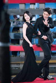 IU&Lee Junki 161231 SBS Drama Award ScarletHeart
