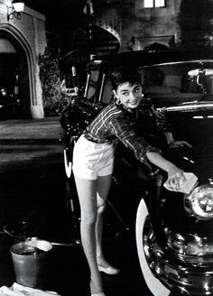 Audrey Hepburn as Sabrina
