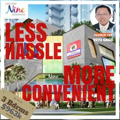 Heard abt it? Seng Siong has purchased the supermarket unit in J9!  This will be so much convenient for the residents in this new launch where everything is virtually below your feet!   PROJECT DETAILS  ***************  Name of Retail Mall : Junction Nine  Name of Residential : Nine Residences  Expected Date of TOP : 30 Jun 2017  Expected Date of Legal Completion  : 30 Jun 2020  Tenure of Land : 99 years wef 30 April 2013   DEVELOPMENT INFORMATION  ***********************  Summary of…