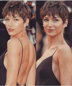 30 New and Fashionable Bob Haircuts to Copy This 12 months ~ Top Beauty Looks Pixie Hairstyles, Pixie Haircut, Summer Hairstyles, Pretty Hairstyles, Bob Haircuts, Medium Hair Styles, Short Hair Styles, Hair Places, Simple Bridesmaid Hair