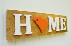 Clemson Home sign