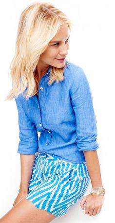 Britt Linen Shirt by J.