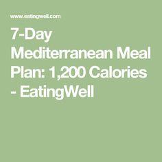Mediterranean Meal Plan: Calories – Vegetables N Fruit Mediterranean Diet Meal Plan, Mediterranean Recipes, Mediterranean Breakfast, 500 Calorie Meal Plan, Fat Smash Diet, Med Diet, Clean Eating Diet, Eating Well, Healthy Eating Recipes