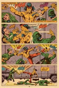 Bare-fisted. Bare-footed. Bare-chested. Shang-Chi braves those who would cloak evil with a tender face!