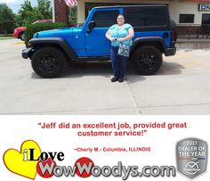 """Jeff did an excellent job, provided great customer service!"" Cheryl M. Columbia, ILLINOIS"
