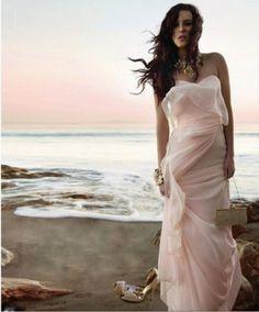 i want this beautiful Badgley Mischka dress