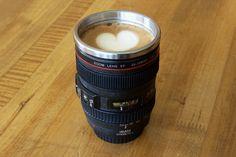 Camera Lens Mug - CoolKitchenGadgets.net