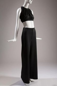 Yves Saint Laurent, Ensemble, ca. 1970, Fashion Institute of Technology, New York