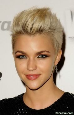 Short hair styles for women Choppy Hairstyles 2014 Like it but I'm worried it'll be too short on me!