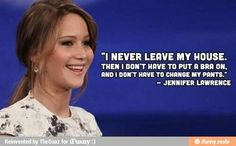 Jenifer Lawrence and her amazingness