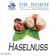 Vapestar - Dr. Born Premium Liquid Haselnuss