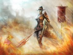 schuttgart castle lineage2 by Perseass on deviantART