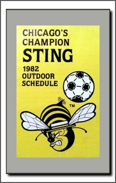 Chicago Sting: Original Sting Schedule (1982)