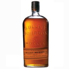 Bulleit - another great bourbon.  The unique bottle takes you back to the wild west, check your six-shooter at the door