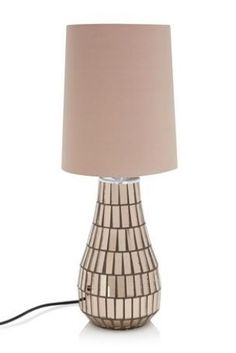 Buy Mosaic Small Mink Table Lamp from the Next UK online shop £28